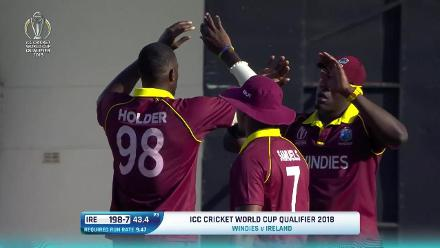 CWCQ Wicket: George Dockrell