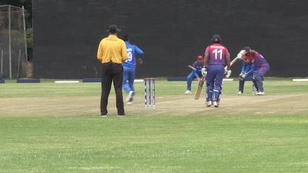 CWCQ: Paras Khadka scores 75 for Nepal