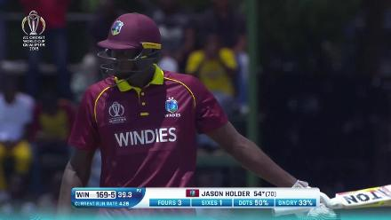CWCQ: Jason Holder batting highlights