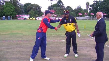 CWCQ: PNG win toss and will bowl first against the Netherlands