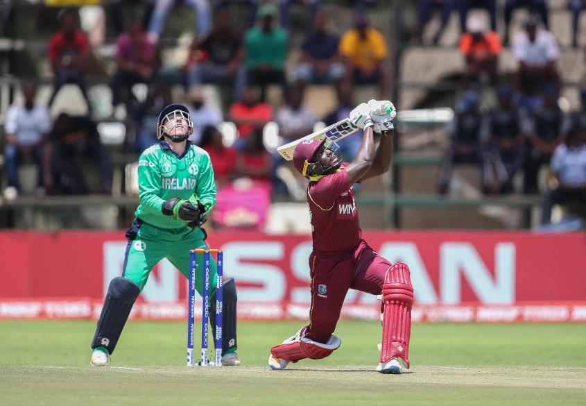 Rovman Powell combined with Jason Holder to lead the Windies recovery