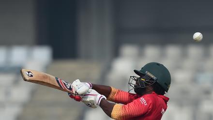 Zimbabwe duo of Mire and Zhuwao set out to bat