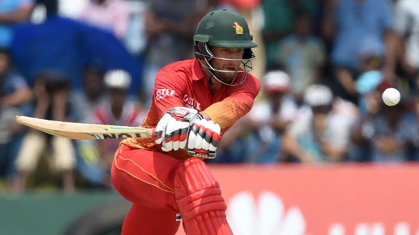 Craig Ervine top scored for Zimbabwe with a 69-ball 57