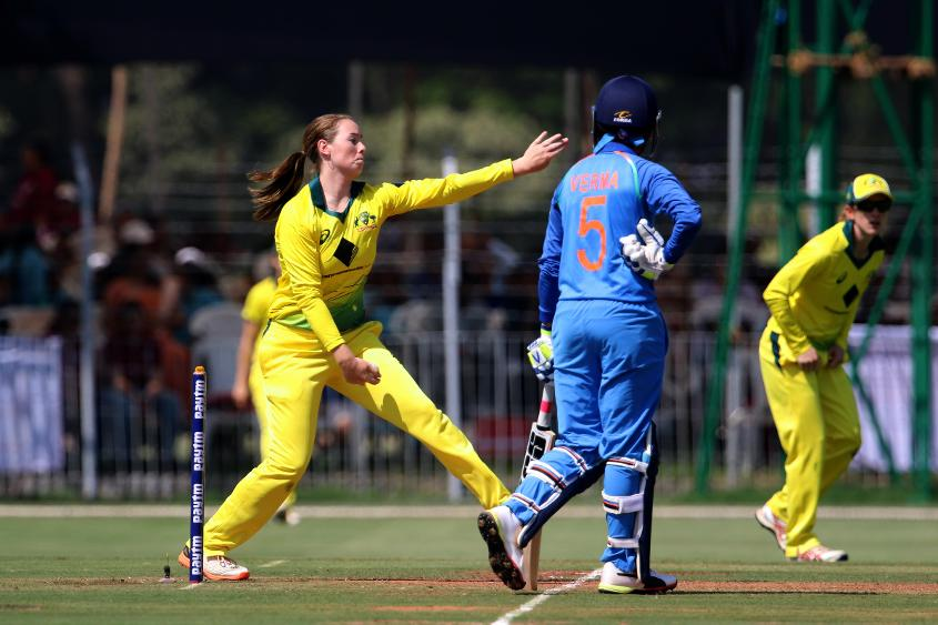 Amanda-Jade Wellington picked up three wickets