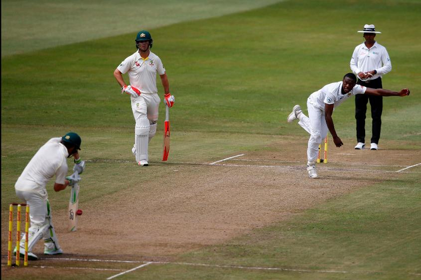 Rabada's 11 wickets at Port Elizabeth bagged him the Player of the Match award
