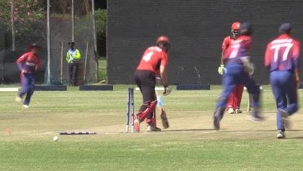 Chris Carter bowled by Basant Regmi