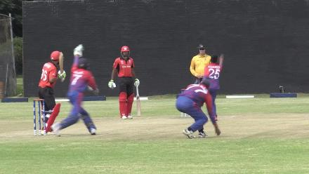 Wickets tumble as Hong Kong lose 4 for 32
