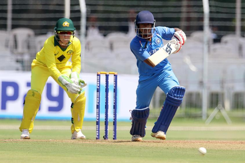 Pooja Vastrakar made 51 off 56 from No.9