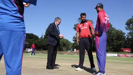 TOSS: Hong Kong win toss and will bat against Nepal