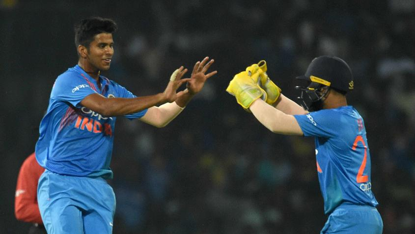 Washington Sundar kept things tight and picked up crucial wickets