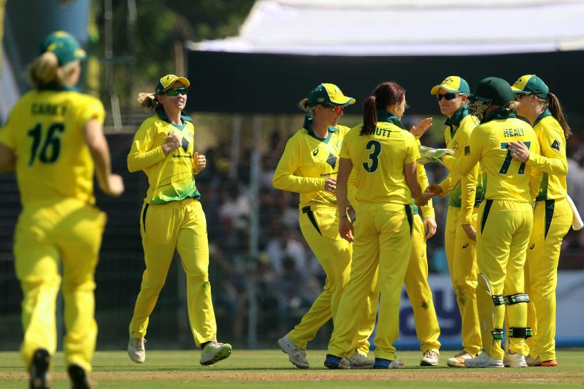 Australia put in a strong all-round performance in the opening ODI against India