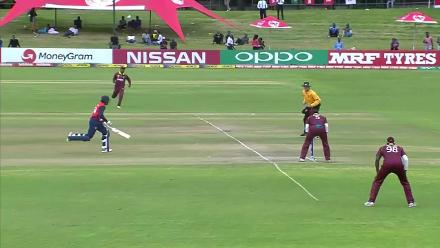 WATCH: Evin Lewis with an AMAZING direct hit!