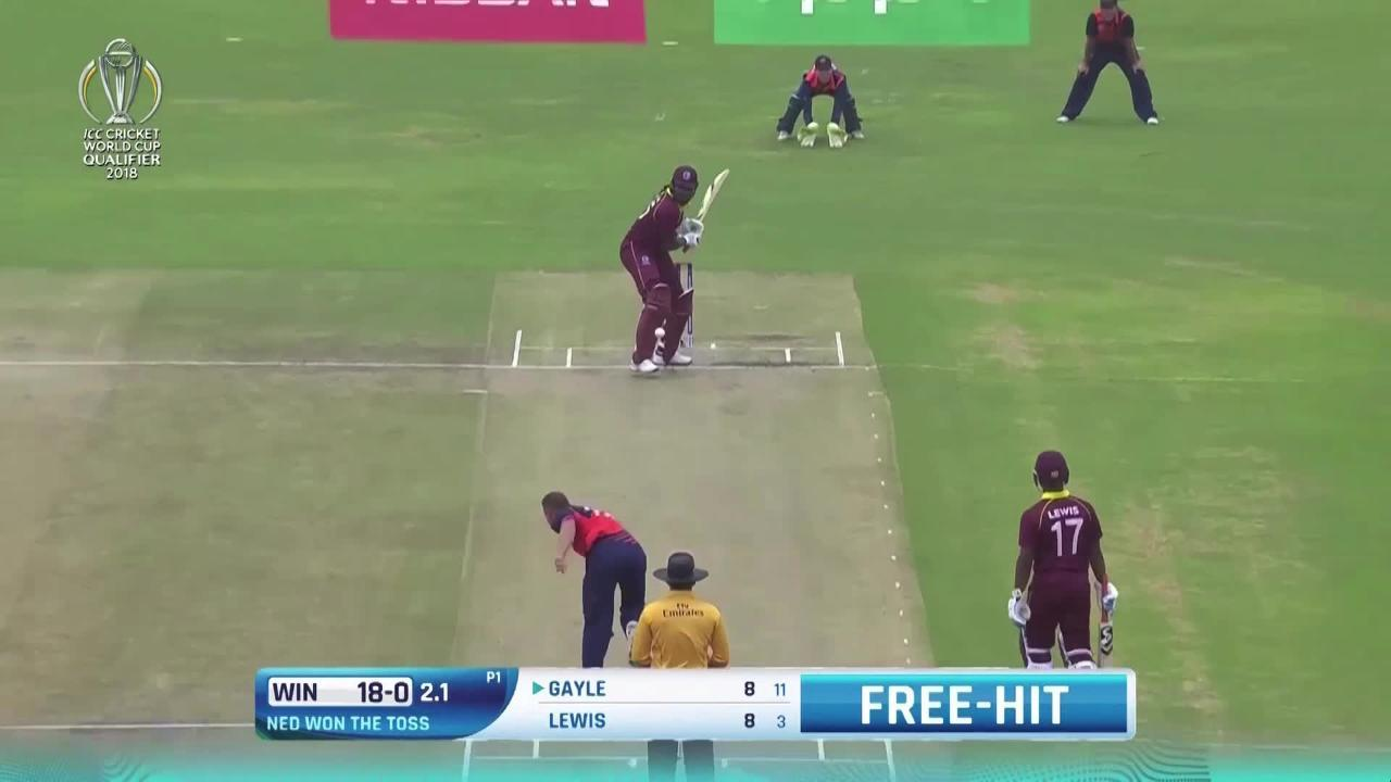 Early Highlights From West Indies V Netherlands