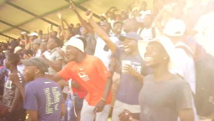 Zimbabwe tie the game and Chevron fans go crazy!
