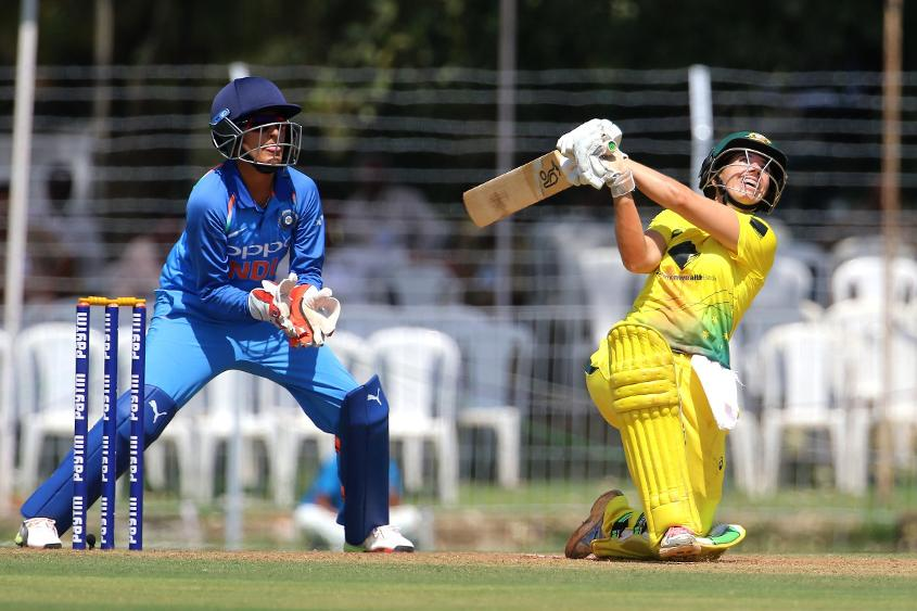 Nicole Bolton scored an unbeaten 100 to lead the Australian charge