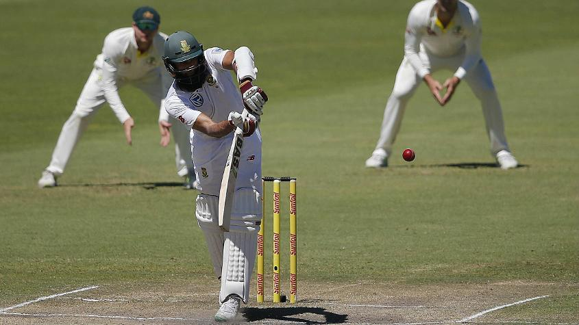 Hashim Amla has climbed one place to No.9
