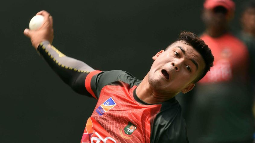 Taskin Ahmed has leaked runs in both the games