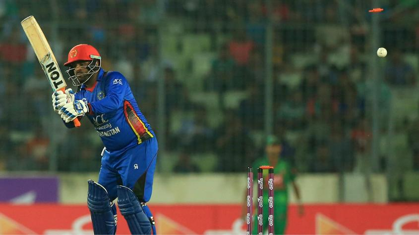 Mohammad Shahzad was suspended for two games after Afghanistan's fixture against Zimbabwe