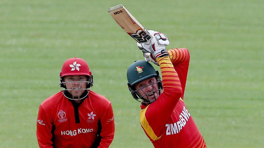 Brendan Taylor scored 279 runs in the group-stage matches