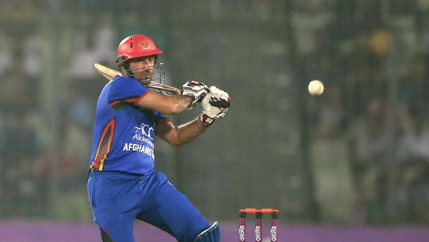 Asghar Stanikzai missed the group-stage games after undergoing surgery for appendicitis