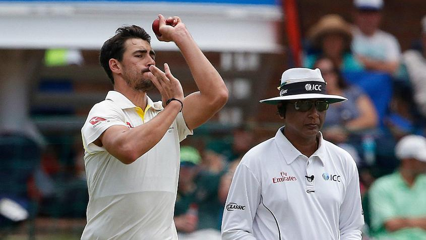 Mitchell Starc drops down to No.9 after picking up just one wicket in Port Elizabeth