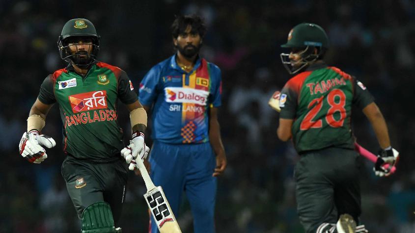 Liton Das and Tamim Iqbal gave Bangladesh a great start against Sri Lanka