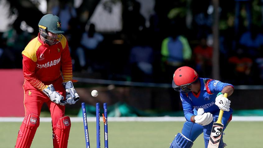 Batting lapses hurt Afghanistan at crucial moments in the game against Zimbabwe