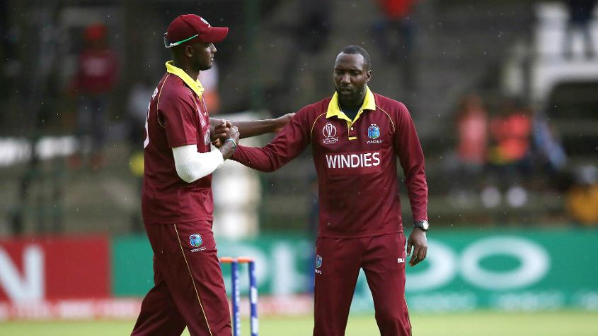 Windies finished at the top of the table in Group A