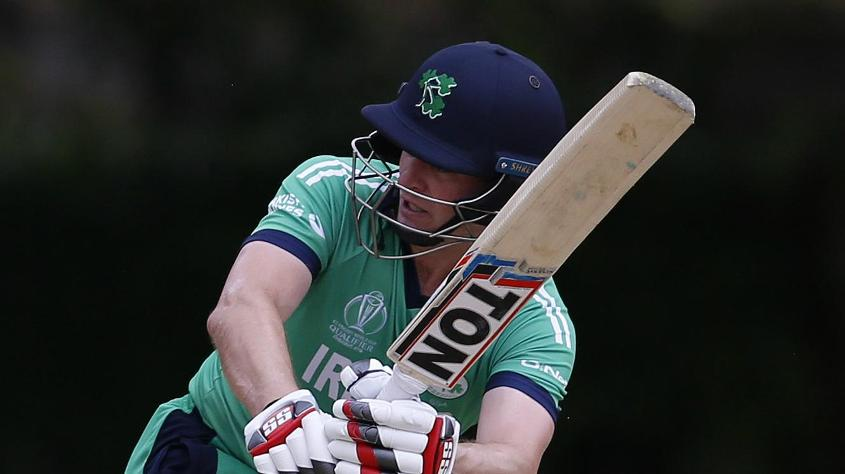 William Porterfield has led Ireland from the front