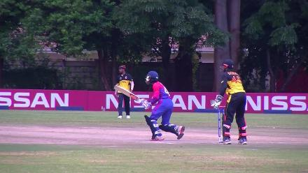 Nepal beat PNG by 6 wickets in CWCQ play-off to gain ODI status