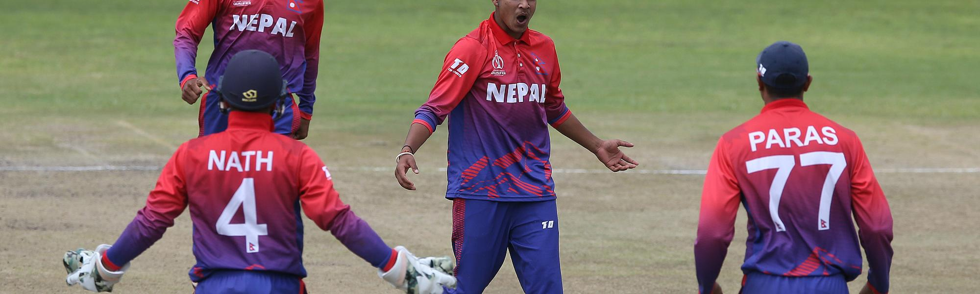 Nepal gained ODI status for the very first time after beating Papua New Guinea (PNG) by six wickets
