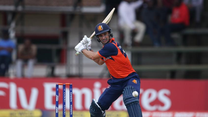 Ryan ten Doeschate is one of the most experienced men in the Netherlands batting order