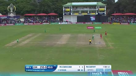 HIGHLIGHTS: Zimbabwe thrash Ireland to go top of the Super Six