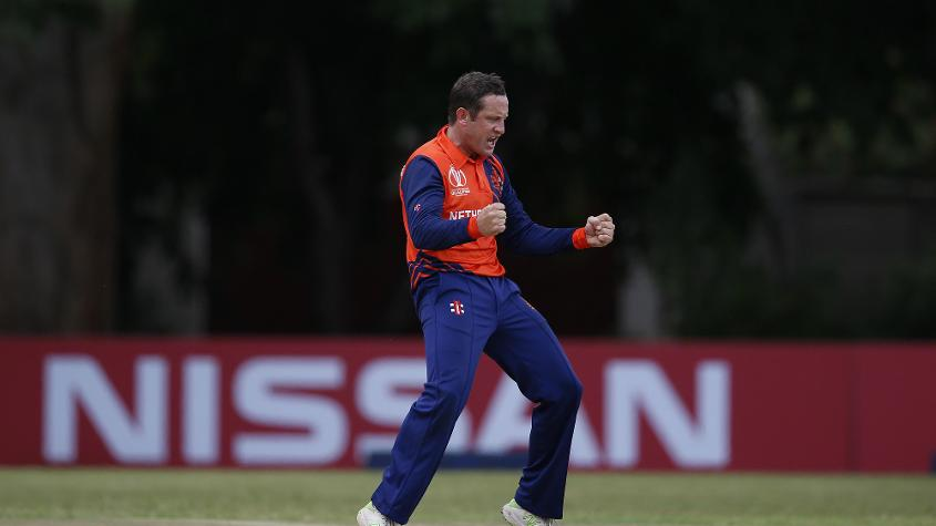 Roelof van der Merwe has picked up 12 wickets from five games, including two four-wicket hauls