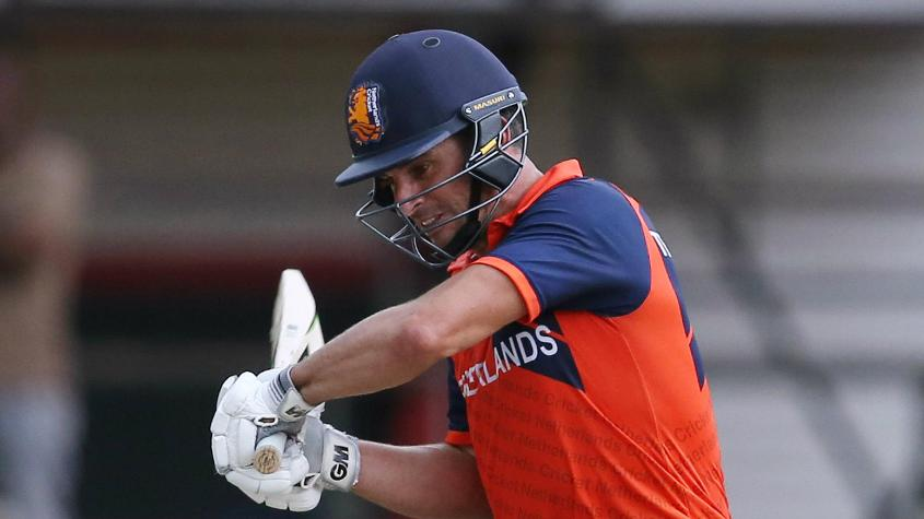 Ryan ten Doeschate did score a half-century but was as inconsistent as the rest of the Netherlands batsmen