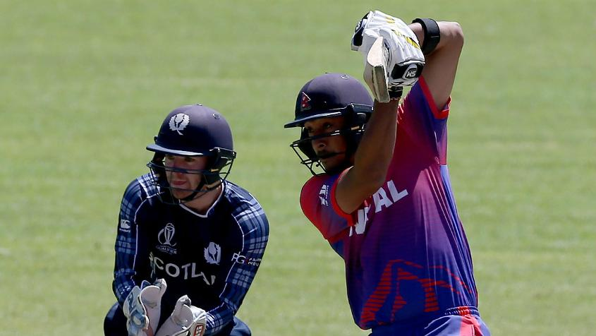 Paras Khadka led the way with the bat, scoring two half-centuries and aggregating 231 runs