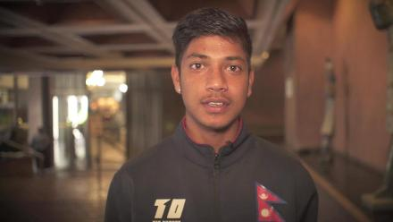 Sandeep Lamichhane's message to Nepal fans