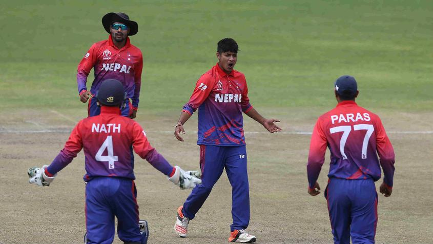 Sandeep Lamichhane did his growing reputation no harm