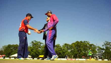 Netherlands win the toss and will bat first against Nepal