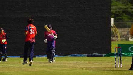 Highlights: Netherlands beat Nepal for 7th place at CWCQ