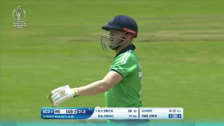 Niall O'Brien's 70 v Scotland at CWCQ