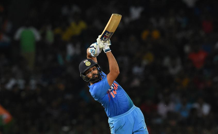 Rohit Sharma's half-century underscored India's chase