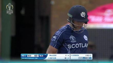 Kyle Coetzer's 61 v Ireland at CWCQ
