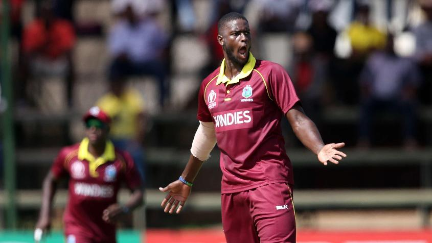 Jason Holder sent back Cephas Zhuwao and Hamilton Masakadza early on