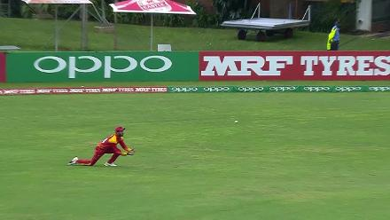 WATCH: Raza's superb catch to dismiss Hope