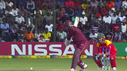CWCQ POTD - Samuels smashes a window with a huge six!