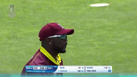 Kemar Roach's 3/55 against Zimbabwe at CWCQ