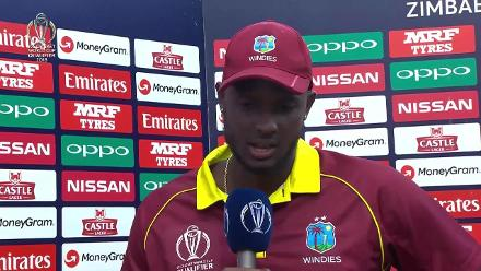 West Indies v ZImbabwe: Post-match presentation