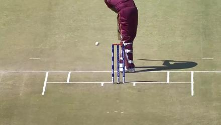 CWCQ POTD - Gayle dismissed on the first ball of the match!