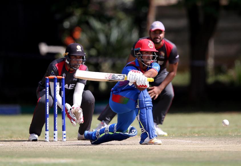 Najibullah Zadran took Afghanistan home against UAE